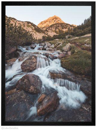 река в пирин Муратов връх пейзажна фотография