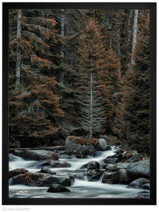 пейзажна фотография река демяница пирин