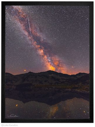 Нощ под звездите в Пирин планина - пейзажна фотография