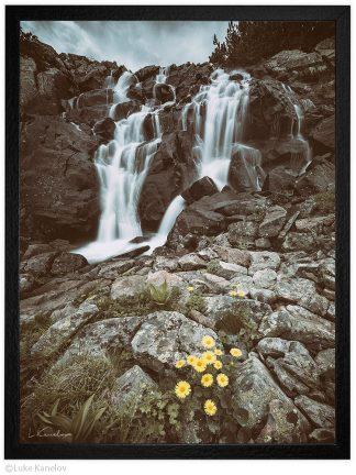 планински водопад в Пирин пейзажна фотография