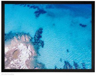 Морски пейзаж, въздушна фотография