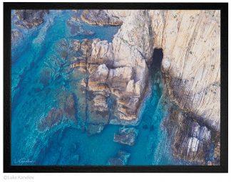 Морска пещера, пейзажна фотография