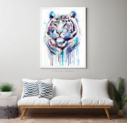 Бял бенгалски тигър