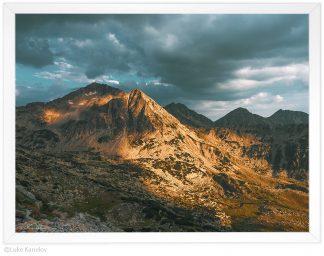 връх яловарника пирин, пейзажна фотография