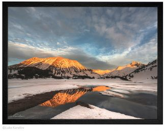 зимен пейзаж Пирин Муратово езеро